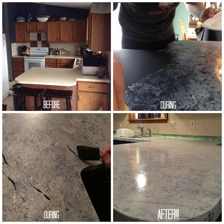 Countertop Painting Specialists In Sequim Washington - Kitchen countertop paint kits